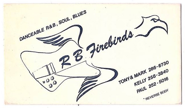 RB Firebirds bizcard