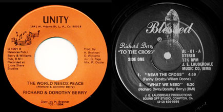 Dorothy Berry - World Needs Peace (records) / © LouieLouie.net