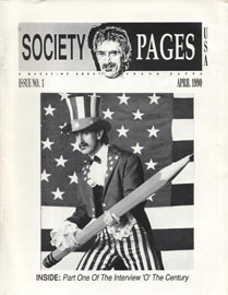 Frank Zappa in Society Pages