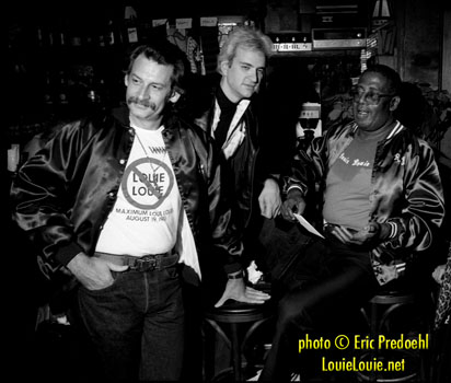 Phil Dirt, Stretch Riedle & Richard Berry - photo by Eric Predoehl