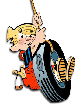 Dennis the Menace - comic strip icon