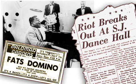 Fats Domino San Jose 1956