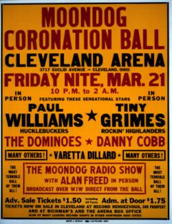 Alan Freed's Moondog Coronation Ball poster