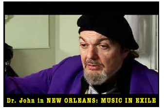 Dr John in New Orleans documentary