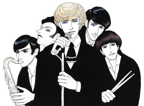 a cool illustration of the SONICS courtesy of New Yorker magazine