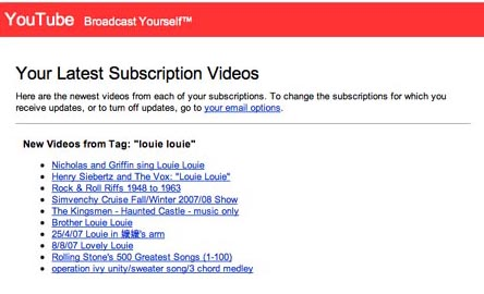 LOUIE LOUIE subscriptions on YouTube