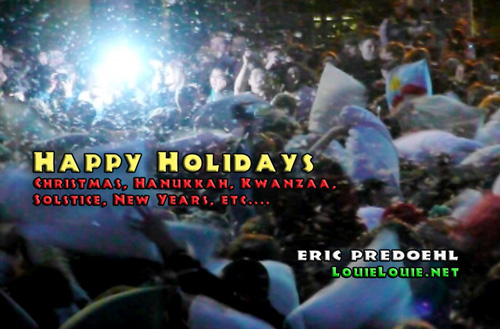 Holiday Greeting card 2008 from Eric Predoehl