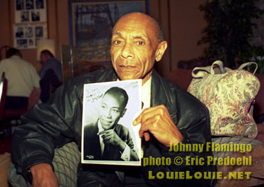 Johnny Flamingo in 2000 - LouieLouie.net