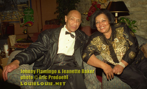 Johnny Flamingo & Jeanette Baker - LouieLouie.net