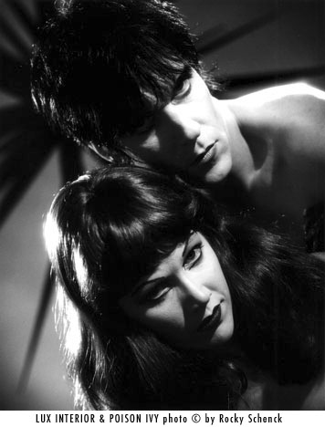 The Cramps- Lux Interior & Poison Ivy
