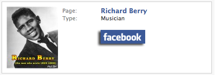 Facebook Richard Berry page