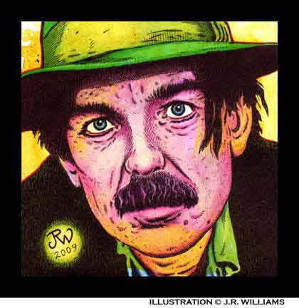 Don Van Vliet aka Captain Beefheart by J.R. Williams