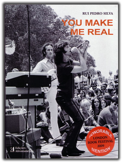You Make Me Real - a book about the Doors by Rui Silva