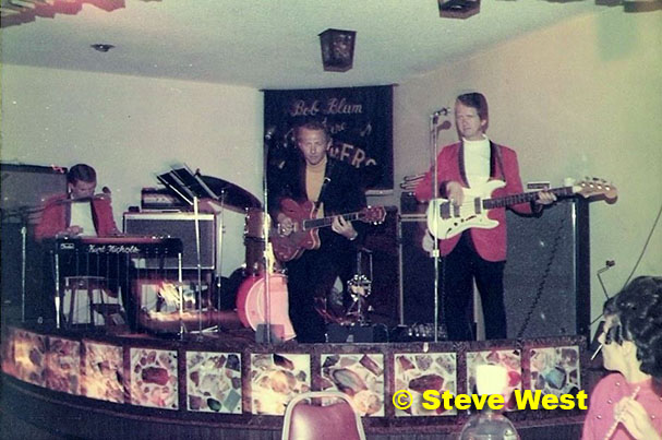 steve west redjacket band