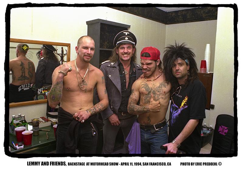 Lemmy-1994-SF-friends