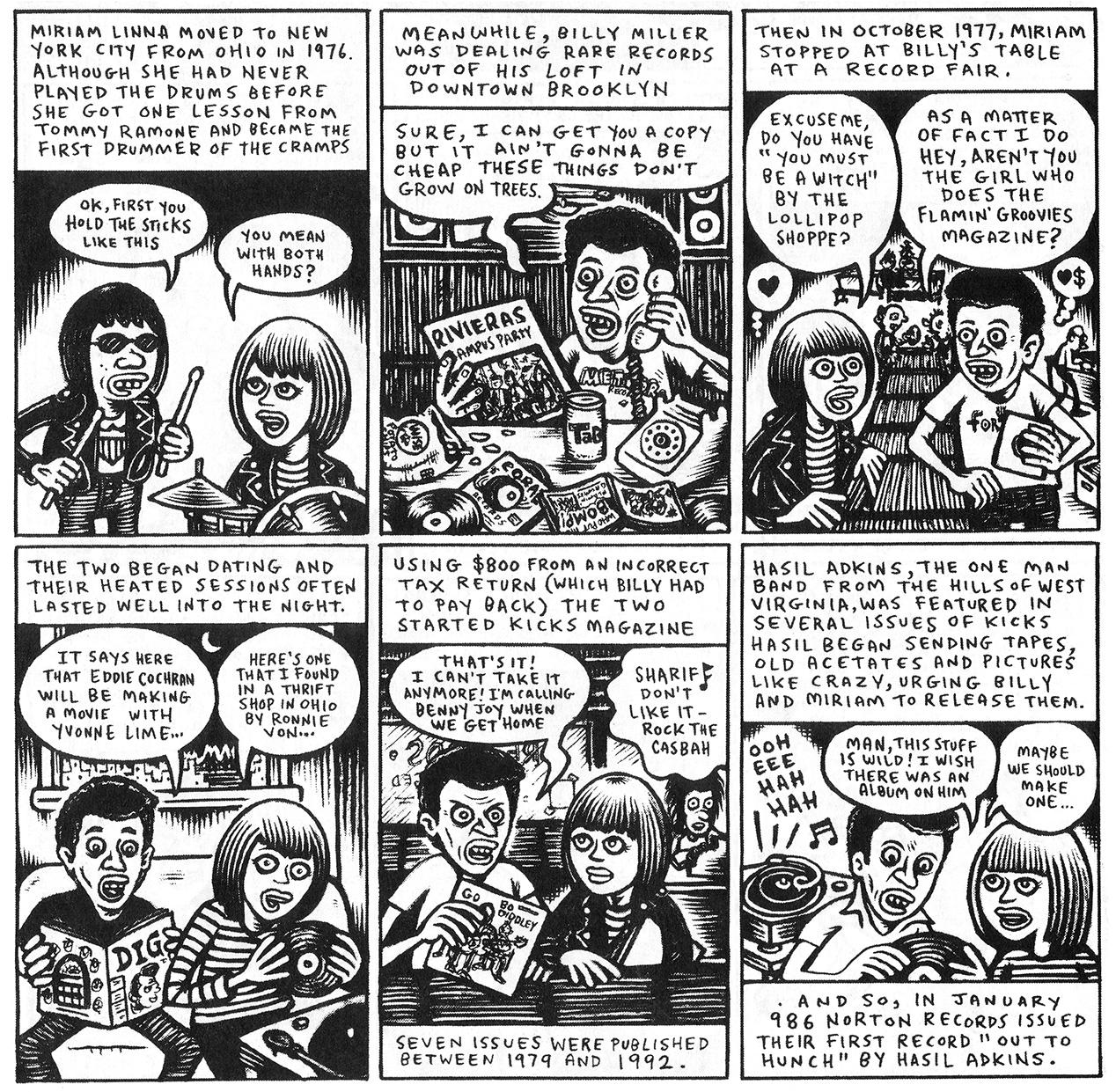 nortonrecord-comic-orgin-story