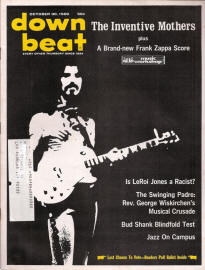 Frank Zappa in Downbeat, October 1969