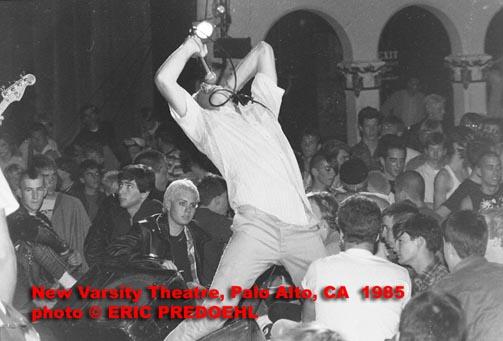 Punk rock at New Varsity 1985