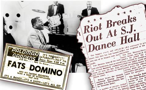 Fats Domino San Jose 1956