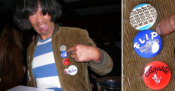 Russell Quan demonstrates rockin' fashion