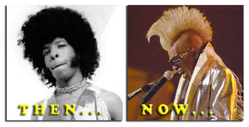 Sly Stone  - then and now