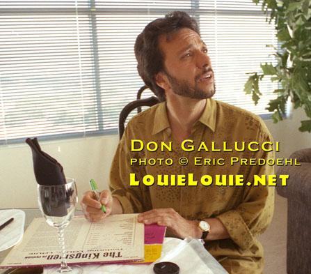 Don Gallucci of the Kingsmen - photo © LouieLouie.net