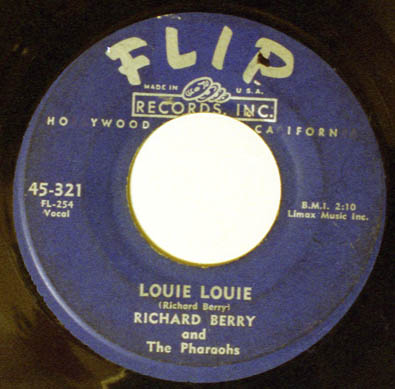 The VERY first recording of LOUIE LOUIE