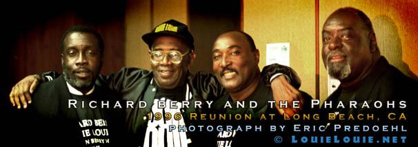 Richard Berry & the Pharaohs 1996 reunion - COPYRIGHT LouieLouie.net