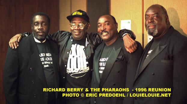 Richard Berry & the Pharaohs © Eric Predoehl / LouieLouie.net